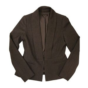 Anne Taylor Women's Blazer (Dark Grey)